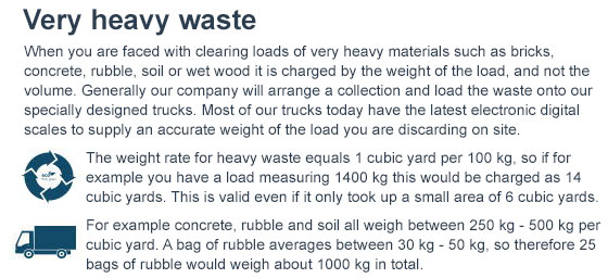 Heavy Waste Disposal across NW3